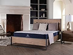 "No mattress manufacturer has ever loaded so many premium features into a bed priced so competitively. The Brooklyn Signature combines 6"" of Individually Pocketed Ascension Coils with 2"" of a transitional Energex foam for deeper compression su..."