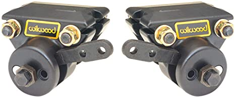 BRAND NEW WILWOOD MECHANICAL SPOT CALIPERS WITH PADS,PARKING BRAKE ...