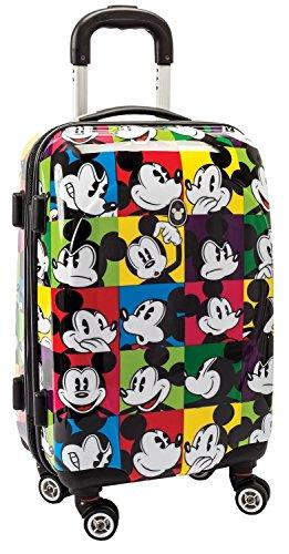 koffertrolley maletín escolar con ruedas Niños Maleta–Mickey Mouse–Mickey Mouse–Multicolor–Disney––Equipaje de viaje rígida–Maletín rígido