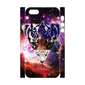 Tiger Flower DIY 3D Hard Case for iPhone ipod touch4 LMc-95ipod touch442 at LaiMc