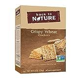 Back to Nature Crackers, Non-GMO Crispy Wheat, 8