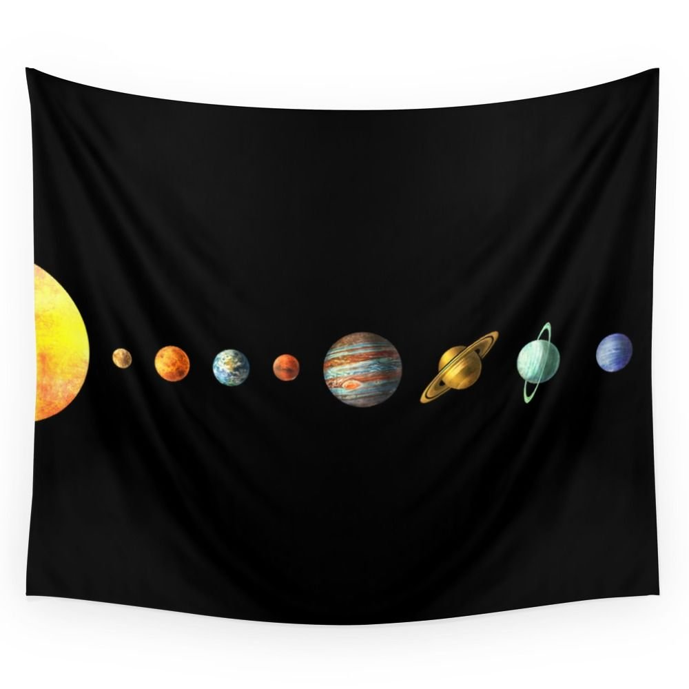 Society6 Solar System Wall Tapestry Large: 88'' x 104''