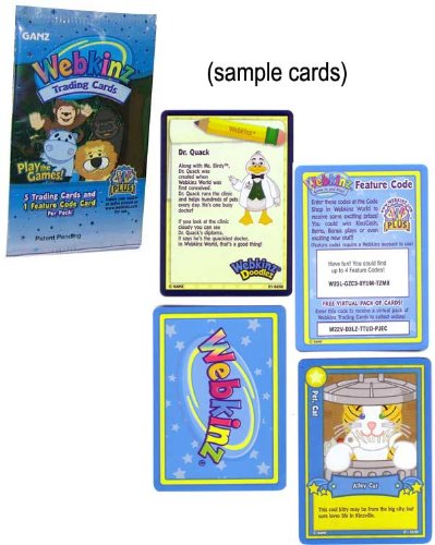 AmazonCom Webkinz Trading Card Game Tcg Booster Pack Toys  Games