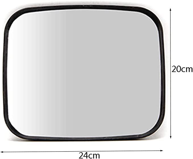 Traffic mirror Acrylic Wide-Angle Lens Square Light Mirror Convex Supermarket Anti-Theft Mirror Dead Angle Mirror Turn Monitoring to Increase the Angle of View Safety Mirror