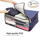 plastic bins for clothes - Titan Mall Clothing Organizer Bags Bamboo Charcoal Fiber Storage Units for Clothes 19