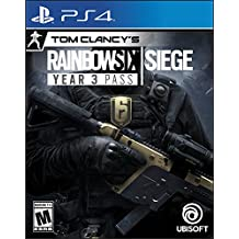 Tom Clancy'S Rainbow Six Siege: Year 3 Season Pass - PS4 [Digital Code]