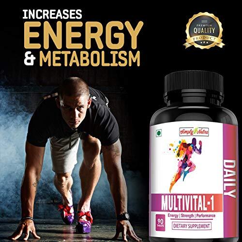 Simply Nutra Multivital-1 Multivitamin Tablets