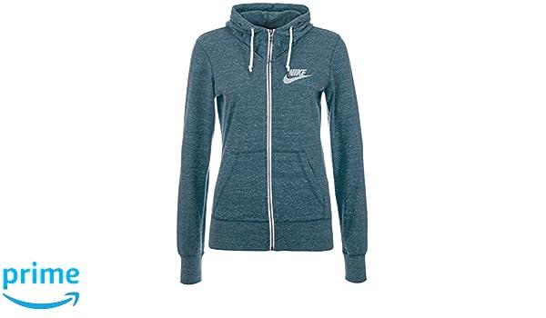 Nike Hoody Gym Vintage Fleeze Jacke - Sudadera con Capucha ...