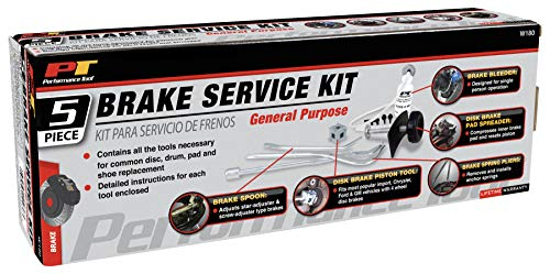 Performance Tool W180 Brake Service Kit, 5-Piece