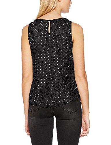 VERO MODA Vmsally S/l Midi Top Lcs, Débardeur Femme, Multicolore (Black), 34 (Taille Fabricant: X-Small)