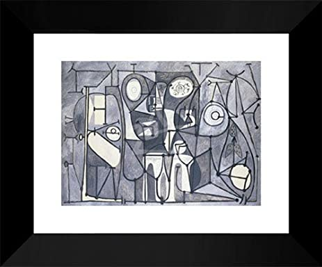 Pablo Picasso Framed Art Print 15x18 U0026quot;The Kitchen, ...