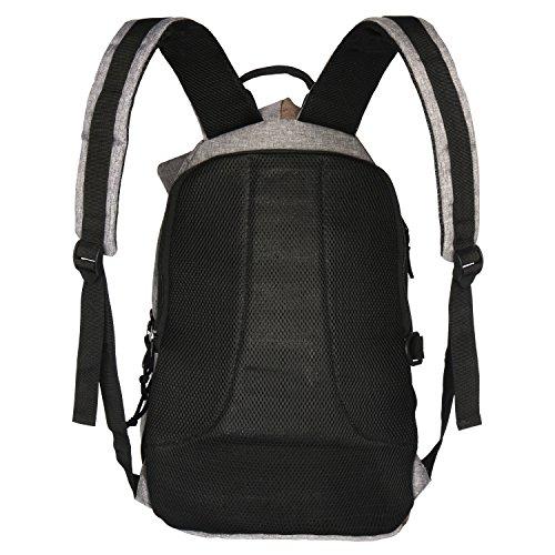 "School Bag for Men 14"" Laptop Backpack Casual Travel Daypack College Book bag"
