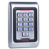 UHPPOTE Metal Zinc Alloy Case Access Control Keypad IP68 Waterproof Standalone Backlight