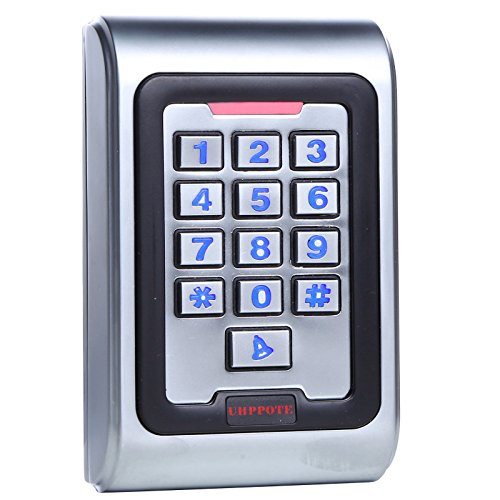 UHPPOTE Metal Zinc Alloy Case Access Control Keypad IP68 Waterproof Standalone with Backlight