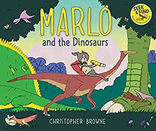 Book Cover: Marlo and the Dinosaurs
