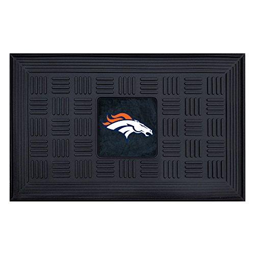 - FANMATS NFL Denver Broncos Vinyl Door Mat
