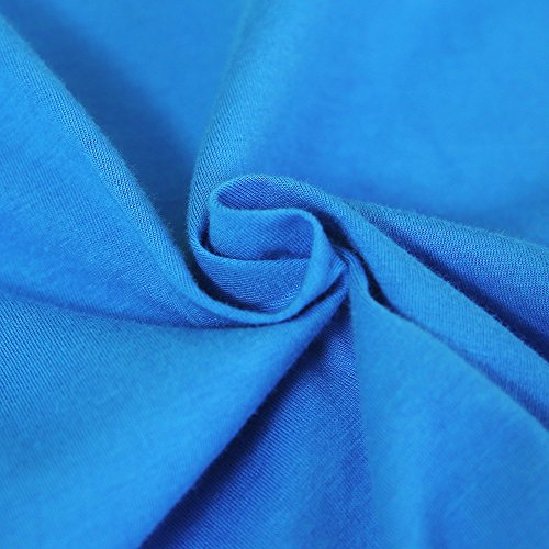Kids Cheap T Shirts,Boys Solid Candy Color Tee Tops Little Girls T Shirts Pajama Shirts.(Blue,100) by Wesracia (Image #5)