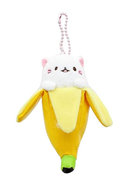 Amazon.com: Bananya llavero: de peluche Bananya: Toys & Games
