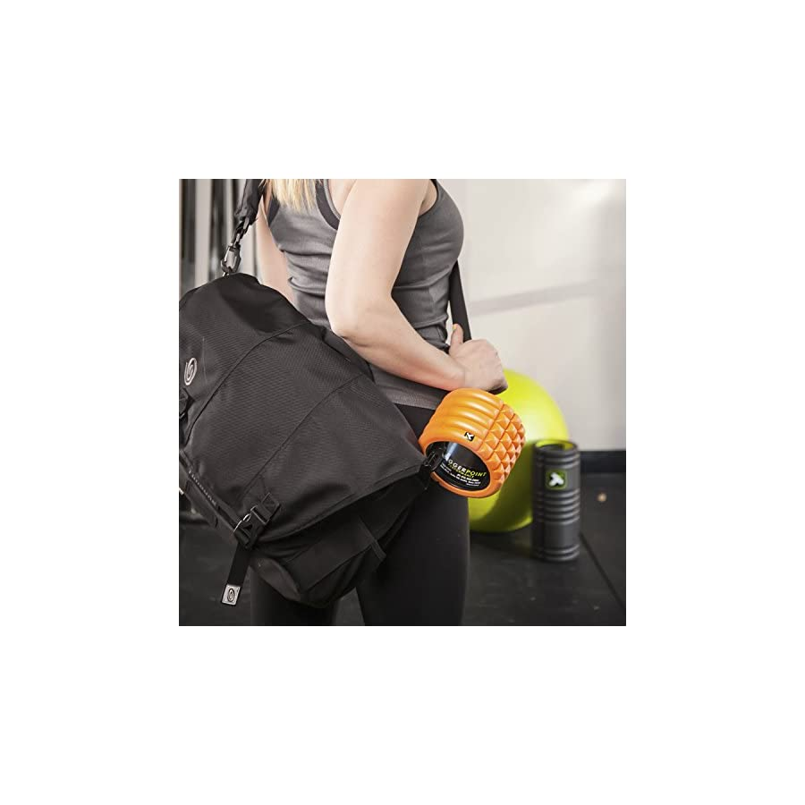 TriggerPoint Grid Foam Roller, Mini (4 inch), Black