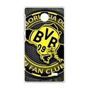 JIANADA BVB Borussia Dortmund Football Club Cell Phone Case for Nokia Lumia X