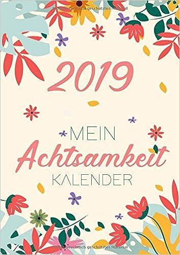 Wochenkalender 2019 Achtsamkeit