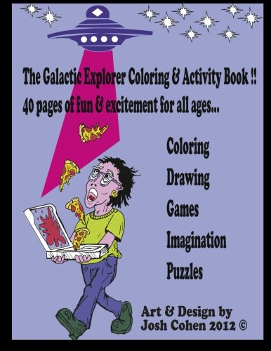 Download The Galactic Explorer Coloring & Activity Book Vol. 1 ebook