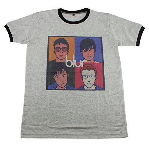 [Blur alternative rock britpop indie punk music T-Shirt / GV80.4 size M] (Mens Disco Jumpsuit)