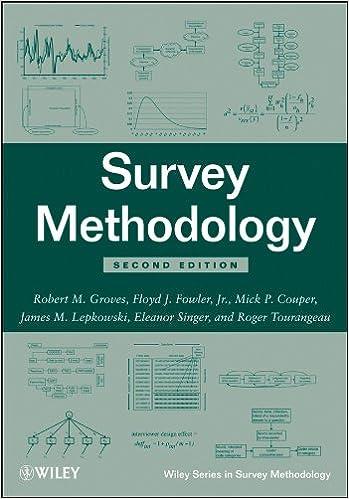 survey methodology 2nd edition