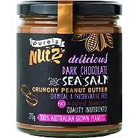 Purely Nutz Chocolate and Sea Salt Crunchy Peanut Butter, 270 g