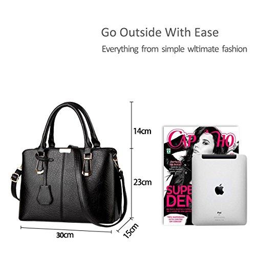 shoulder style Nicole amp;Doris body work of trend new Black casual European bag minimalist bag Black cross handbag z4zwrqYdx