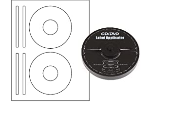 amazon co jp merax ezラベル cd dvdラベルapplicator 40 mm穴