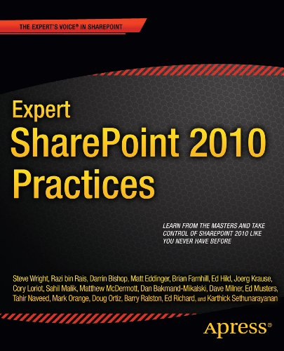 Expert SharePoint 2010 Practices (Books for Professionals by Professionals) Pdf