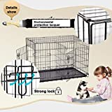 Dog Crate Kennel Pet Cage for Large Medium Dogs