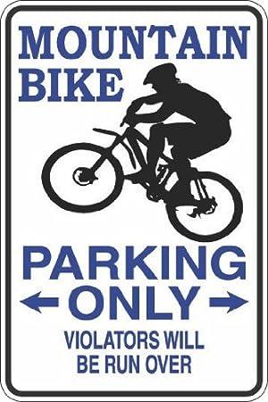 StickerPirate Drummer Parking Only 8 x 12 Metal Novelty Sign Aluminum S276