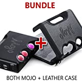 CHORD Electronics BUNDLE Mojo Leather Case and Mojo DAC/Headphone Amplifier, with USB, Coaxial, and Optical Inputs