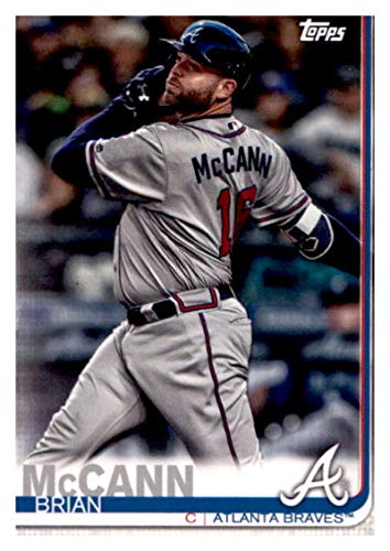 - 2019 Topps Team Edition Atlanta Braves #AB-15 Brian McCann Atlanta Braves Baseball Card