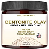 Bentonite Clay Mask, Large 16 oz Jar, Indian Healing Clay Powder, Natural Healing