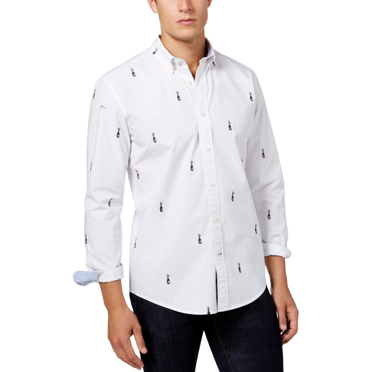 Amazon.com: Tommy Hilfiger - Camiseta de manga ajustable ...