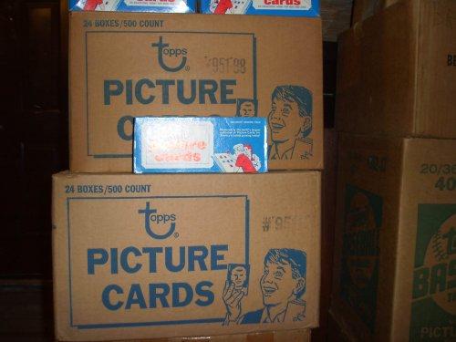 Topps 1986 Baseball Cards Unopened Vending Box (500 cards)