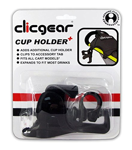 Clicgear Cup Holder Plus for Golf Push Carts