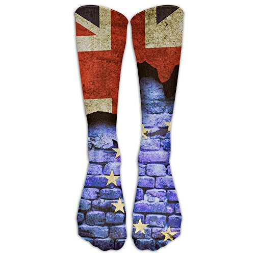 Brexit Men Hip-hop 3D Print Sport BascketBall Socks -
