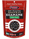 Seapoint Farms Premium Black Edamame with Sea Salt, 3.5 Ounce (Pack of 12)