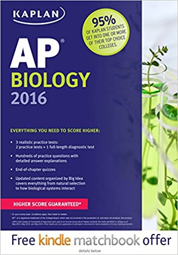 Amazon kaplan ap biology 2016 kaplan test prep 0001625231466 kaplan ap biology 2016 kaplan test prep pappsc edition fandeluxe Images