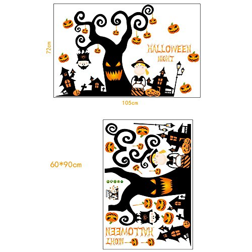 Removable New Wall Sticker,Lowprofile Pumpkin for Kids Room