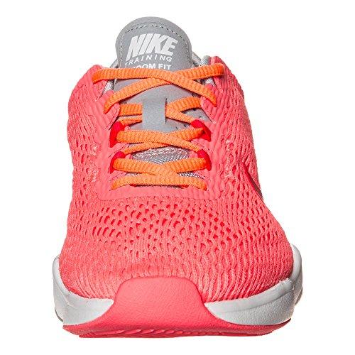 Zapatillas De Entrenamiento Nike Para Mujer Zoom Fit Lava Glow / Bright Crimson-wolf Gray-brg
