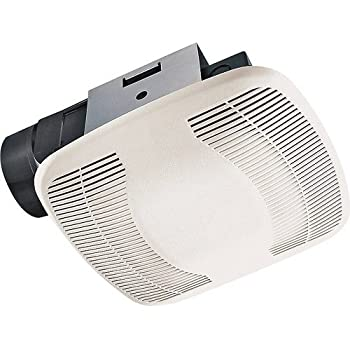 Broan 679 ventilation fan and light combination broan fan with light for Air king bathroom fan light combo