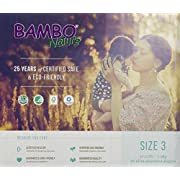 Bambo Nature Baby Diapers Classic, Size 3 (11-20 lbs), 66 Count (2 Packs of 33)