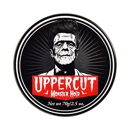 (Uppercut Deluxe Monster Hold Pomade 2.5oz - Heavy & Strong Hold - Waxy, High Shine - Sweat)