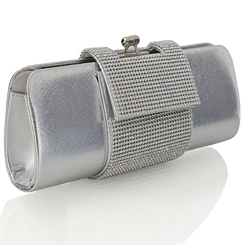Glam Metallic Clutch - 4