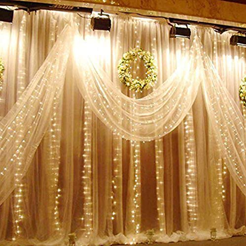 Outdoor Solar Curtain Lights in US - 7